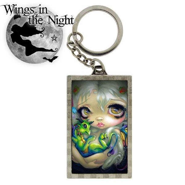 NEMESIS NOW Gothic Darling Dragonling 3D Keyring